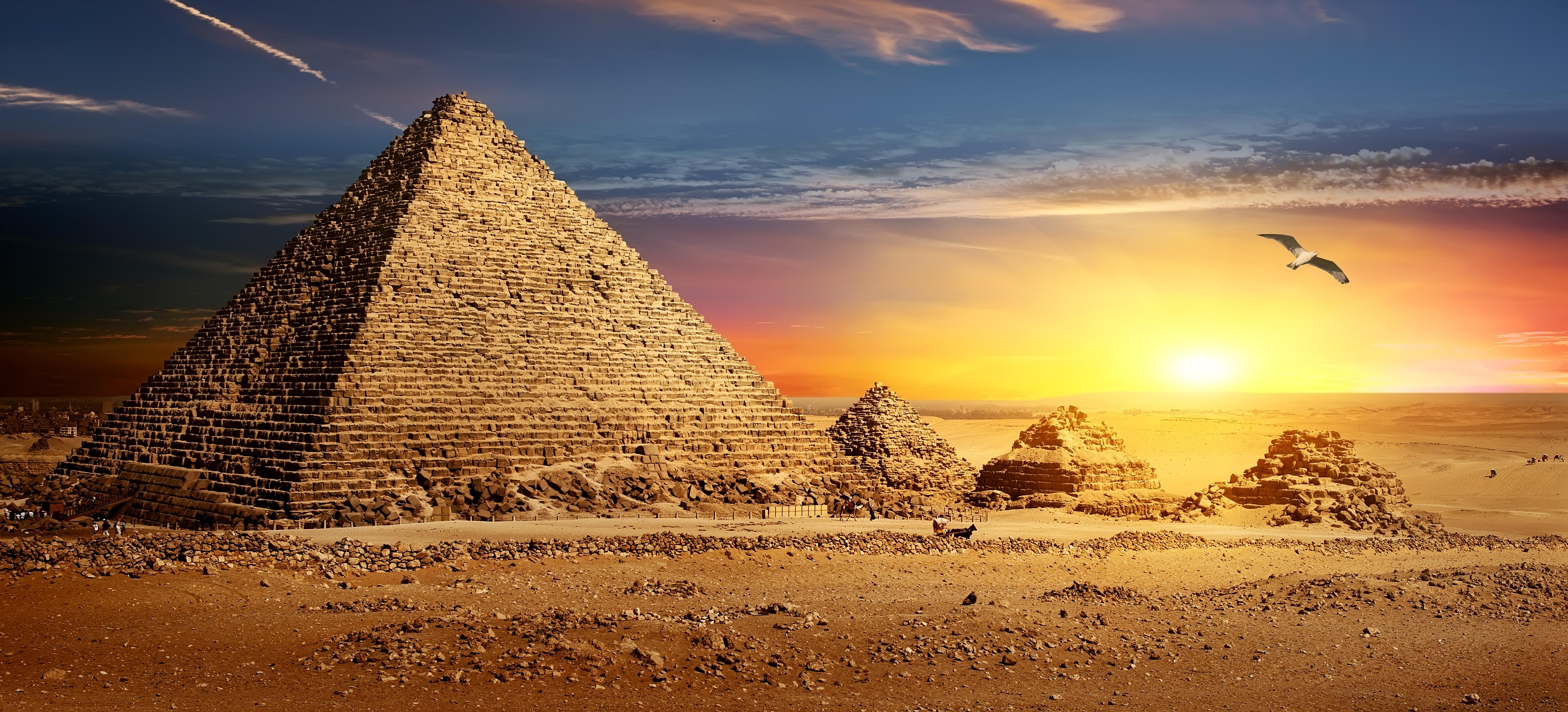 Блокады, открытка египет пирамиды